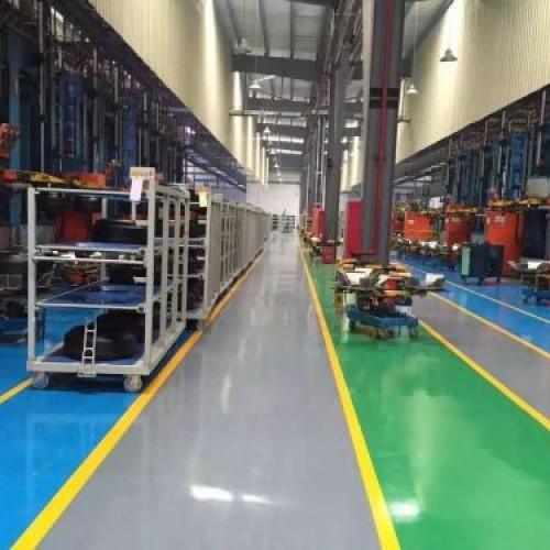 Epoxy Mortar Floor Coating System