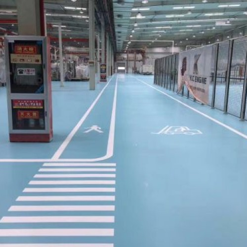 Water-based Polyurethane Floor Coating System